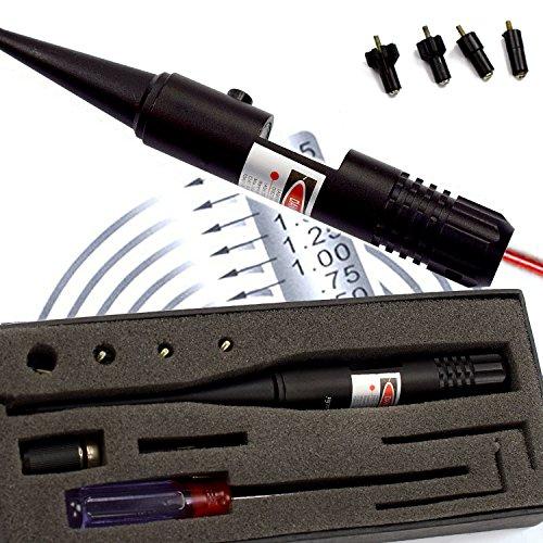 Feyachi BoreSighter Bore Sight kit for 022 to 050 Caliber Rifles Handgun Red Laser