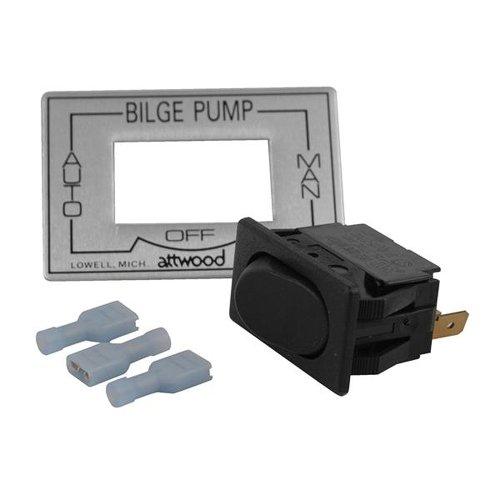 Attwood 3-Way AutoOffManual Bilge Pump Switch