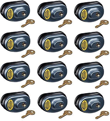 Master Lock 90KADSPT-P413 Keyed Alike Gun Trigger Locks - Quantity 12