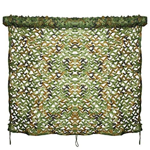 Evaliana Woodland Camo Car Sunshade Netting Camping Military Hunting Camouflage Net