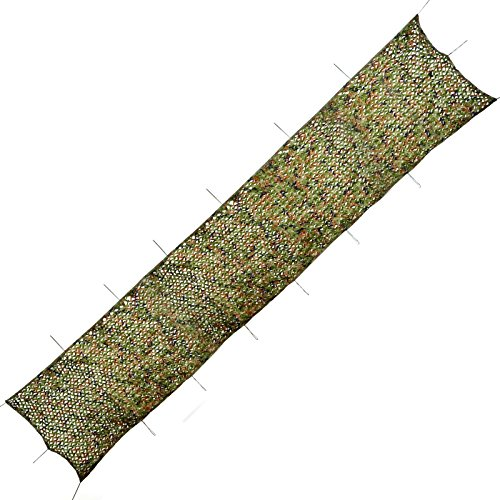 Woodland Camouflage Camo Net Netting Cover Blinds Camping Military Hunting 3x15m98x5ft