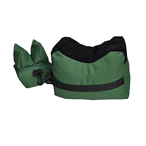 Shooting Rest Bags Front Rear Shooting Sand Bag Sandbag for Hunting Hunter Shooter Green