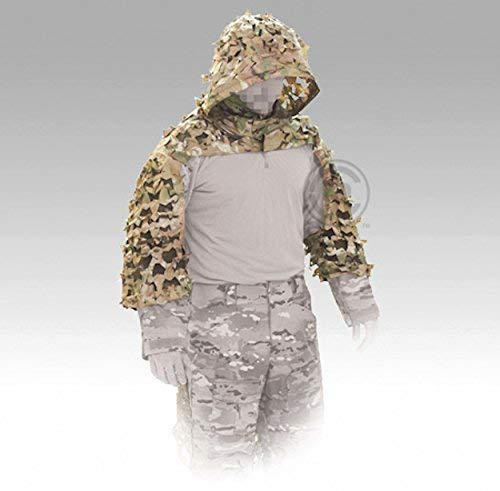 Crye Precision Compact Assault Multicam Ghillie Suit - Large