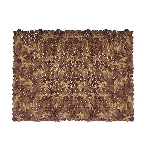 Camouflage Netting Iunio 65ft x 5ft  2m x 15m Custom Desert Camo Net Great For Sunshade Camping Shooting Hunting etc