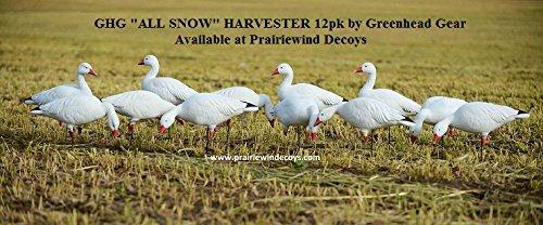 Avery Greenhead Gear GHG Pro-Grade Snow Goose Decoys Harvester Pack - 12 Pack