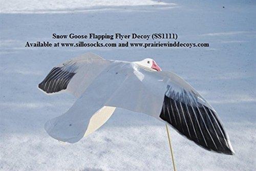 Sillosocks Flapping Snow Goose Decoy White