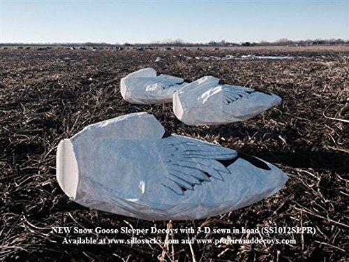 Sillosocks Sleeper Snow Goose Windsocks Decoys 1 dz SS1012SLPR by Sillosock Decoys