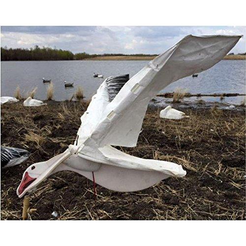 Sillosocks Wing Beats Power Flapper Snow Goose Decoy