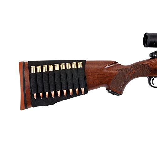 Allen Rifle Buttstock ShellCartridge Holder fits most hunting rifles 270 3006 65 creedmoor 7mm