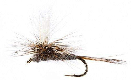 Flies Direct Adams Parachute Assortment 1 Dozen Trout Fishing Flies