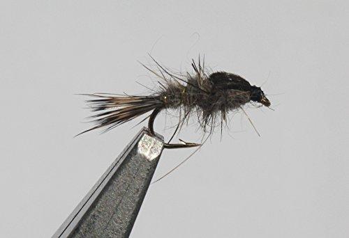 Flies Direct Hares Ear Nymph Assortment 1 Dozen Trout Fishing Flies