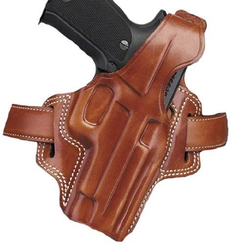 Galco Fletch High Ride Belt Holster for Beretta 92F  FS Tan Right-hand