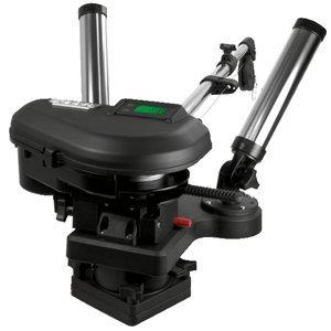SCOTTY 2116  Scotty 2116 HP Depthpower Electric Downrigger 60 SS Telescoping Boom w Swivel Base - Dual Rod Holder