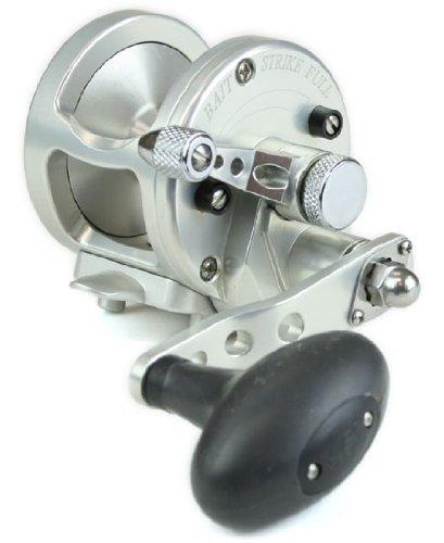 Avet MXJ58S 581 Lever Drag Conventional Reel Silver 300 yd20 lb
