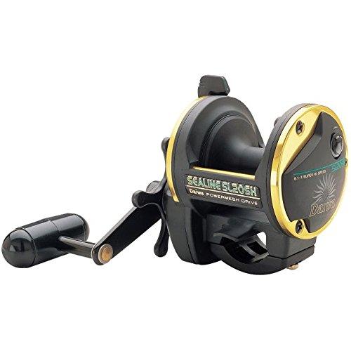 Reel Draggin Tackle - Sealine SL-H Saltwater Conventional Reel - Size 20 611 Gear Ratio 4BB Bearings