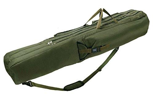 Fishing Rod Tube Bag 3 Pockets Shoulder Carry 6 Rod Bag Suitcase 59 - inch