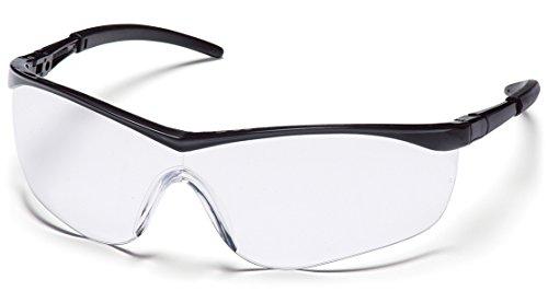 Pyramex Mayan Safety Eyewear Clear Lens With Black Frame