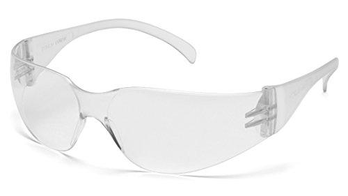 Pyramex Mini-Intruder Safety Eyewear Clear Frame Clear-Hardcoated Lens