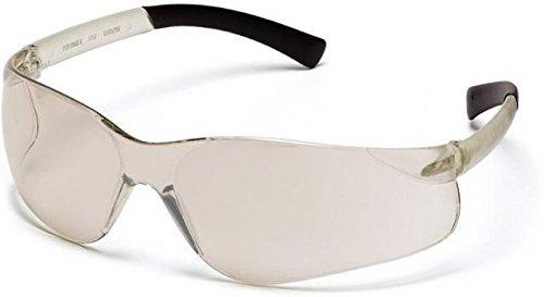 Pyramex Mini Ztek Safety Eyewear - IndoorOutdoor Mirror Lens IO Mirror Frame