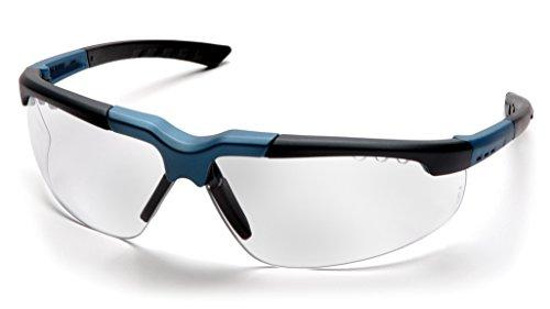 Pyramex Reatta Safety Eyewear Clear Lens With BlueCharcoal Frame