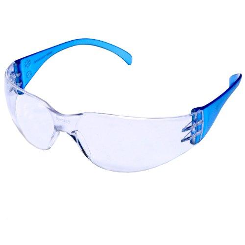 Pyramex Safety Intruder Eyewear Blue Temples Clear Lens