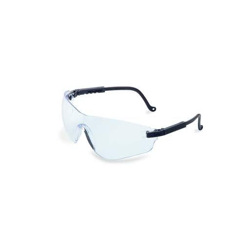 Uvex S4502X Falcon Safety Eyewear Black Frame Amber UV Extreme Anti-Fog Lens