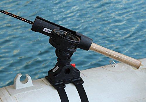 Brocraft Float Tube OR Pontoon Boat Rod Holder  Float Tube Fly Rod Holder