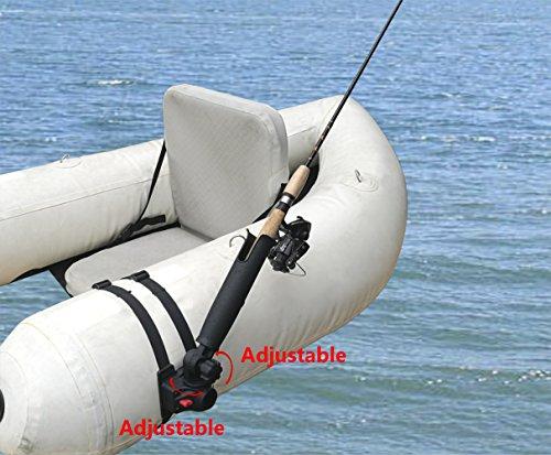 Brocraft Float Tube Rod HolderInflatable Pontoon Boat Rocket Launcher Rod Holder