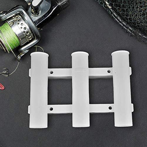FidgetFidget Plastic 3 Tube Rod Holder Rack Bracket Socket for Sea Boat Kayak Fishing