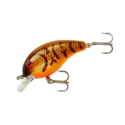 Bandit Crank 100-Series 2-Inch Crawfish 2 to 5-Feet Deep Bait Orange