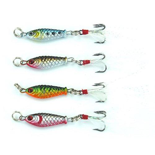 4pcslot 25cm 64g Lead Fishing Lure MINI LEAD FISHING LURE BASS WALLEYE 6G Fishing Crankbait Lure Lead Jigs