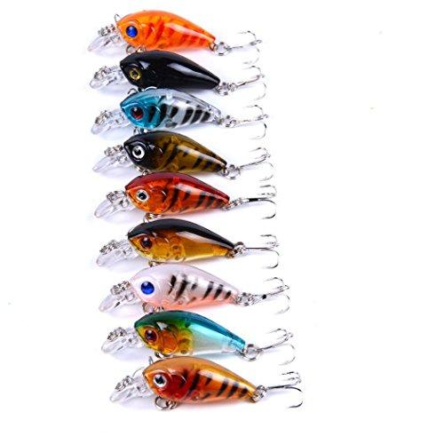 9 PcsLot 45cm 4G Crankbait Fishing Lure Fish Wobbler Tackle Crank Bait Isca Artificial Hard Bait Swimbait