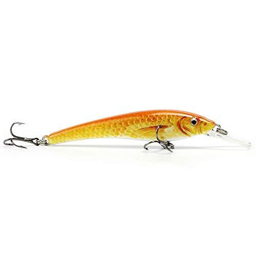 Jamyor 1pcs 35g Mini Minnow Fishing Lure Lifelike Fishing Bait Vivid Hard Fish Tackle Wobbler 5 Color