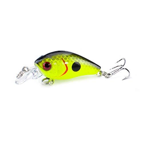 FOVONON Fishing Crankbaits 1 pcs 45cm 4g Mini Crankbaits Floating Fishing Lure Wobblers Hard Bait C122-C
