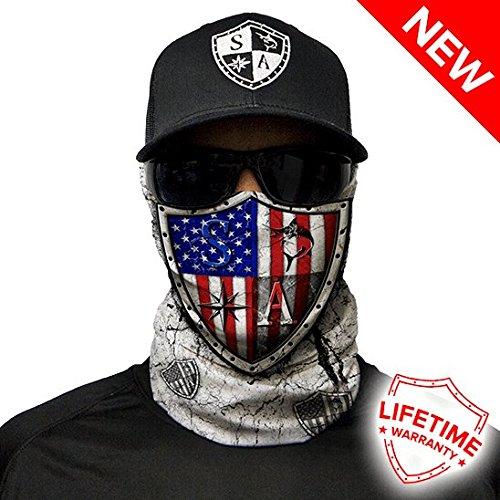 Salt Armour Freedom Face Shield Mask tubular bandanas Hunting Fishing Outdoor