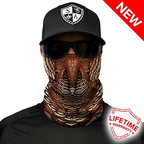 Salt Armour Wild Turkey Face Shield Mask tubular bandanas Hunting Fishing Outdoor