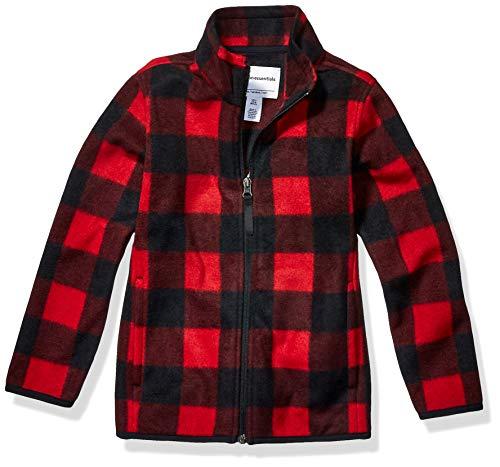 Amazon Essentials Boys Full-Zip Polar Fleece Jacket