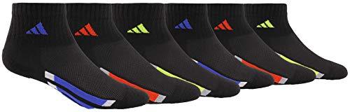 adidas Kids - BoysGirls Cushioned Quarter Socks 6-Pair