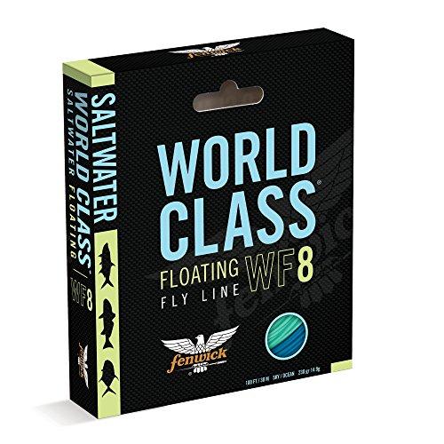 fenwick Wcflsapf9 World Class Saltwater All-Purpose Floating Fishing Line Sky BlueOcean Blue 100 270 Grains