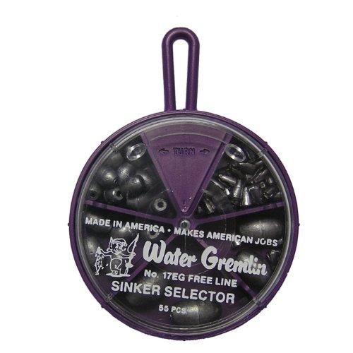 Water Gremlin Egg Sinker Selector 10ea19 6ea9 3ea8 3ea7 33eaSinker Stoppers