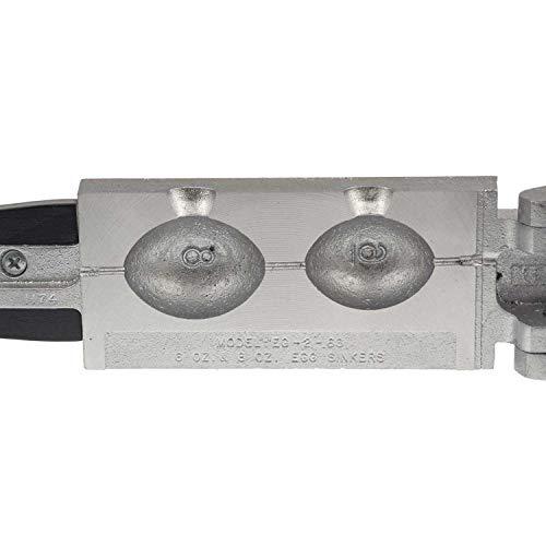Do-it Egg Sinker Mold EG-2-68 Gray 6 oz 8 oz 1174