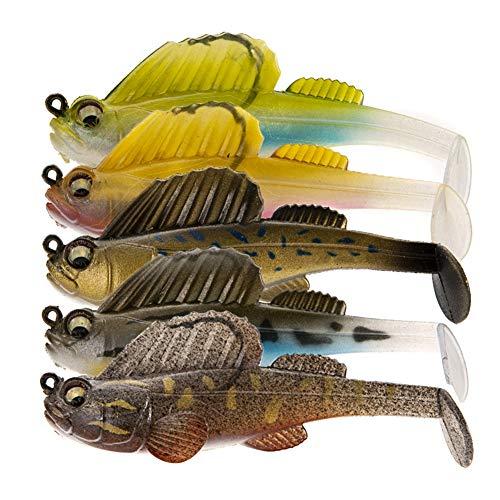 BREEZEY Fishing Lure Soft Lead Jig Dark Dream Swimbaits Soft Lure