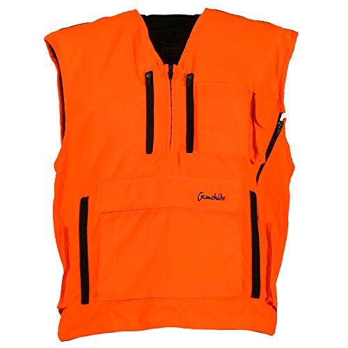 Mountain Pass Extreme Big Game Blaze Hunting Vest  Solid Blaze Orange Medium