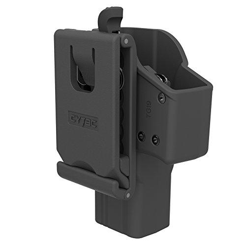 Polymer Gun Holster Trigger Release Adjustable Cant Holsters Matte Finish OWB Tactical Pistol Holster for Glock 19 23 32 Belt Loop - Thumb Release