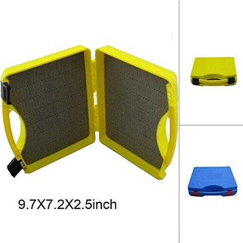 Riverruns Streamer Fly Box SF-I Click Lock Large Fly Box 95X7X25 inch 242X180X64mm Fly Fishing Yellow