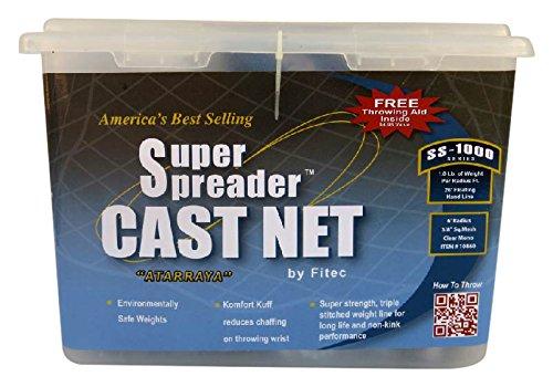 FITEC SS1000 Super Spreader Mesh Cast Net Mono 4 x 14