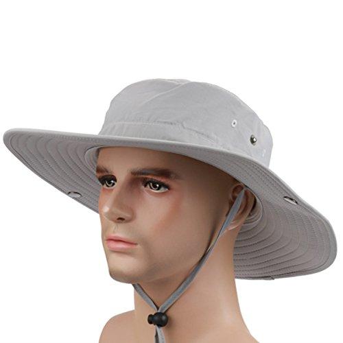 Novolix Outdoor Fishing Bucket Cap UV Protection Sun Hat Quick Drying Sunblock Hat UPF50