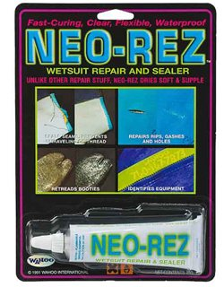 Solarez Neo-Rez Wetsuit Repair Filler 2 Oz Enough to Repair an Entire Suit Fix Fill Patch and Seal Neoprene Wetsuits Hip Waders or any Watertight Clothing or Neoprene QUALITY Made in the USA