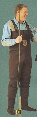 Men 3mm Walnut Brown RadialFlex Neoprene FishingHunting Stocking Foot Wader Size 2XL