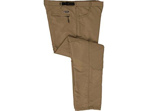 Drake Mens MST Jean Cut Wader Pants Polyester Khaki XL